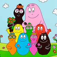 Barbapapa coloring pages