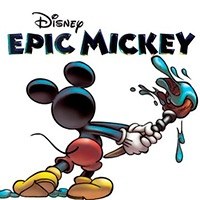 Epic mickey coloring pages