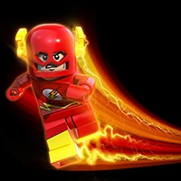 Lego Flash coloring pages