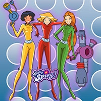 Totally Spies coloring pages
