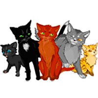 Warrior cat coloring pages