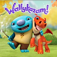 Wallykazam coloring pages