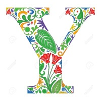 Letter Y coloring pages