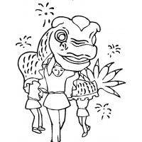 New Year's coloring pages