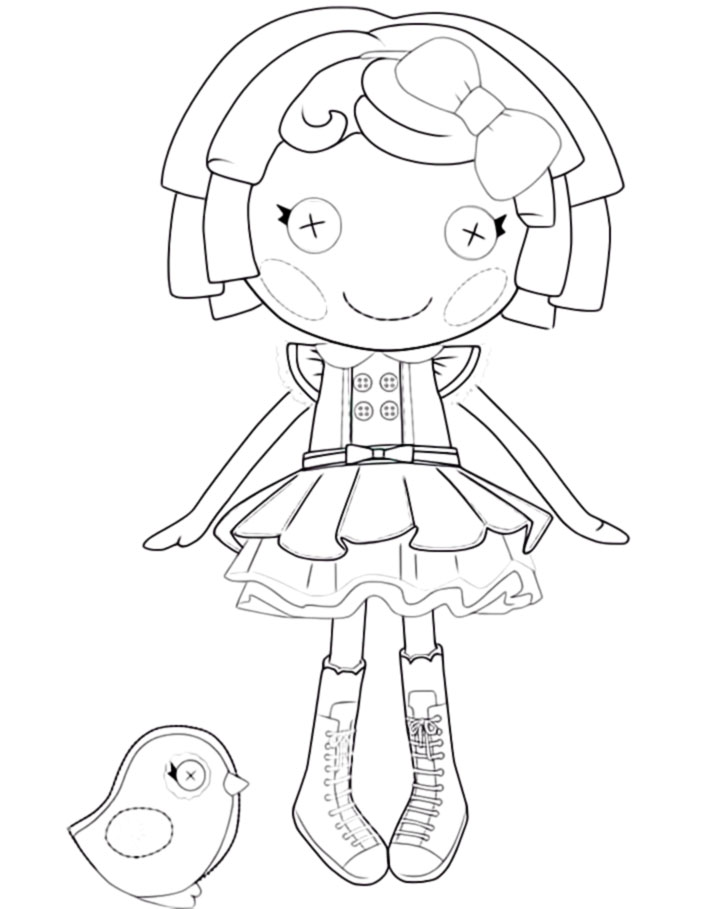 lalaloopsy coloring pages for kids - photo#25