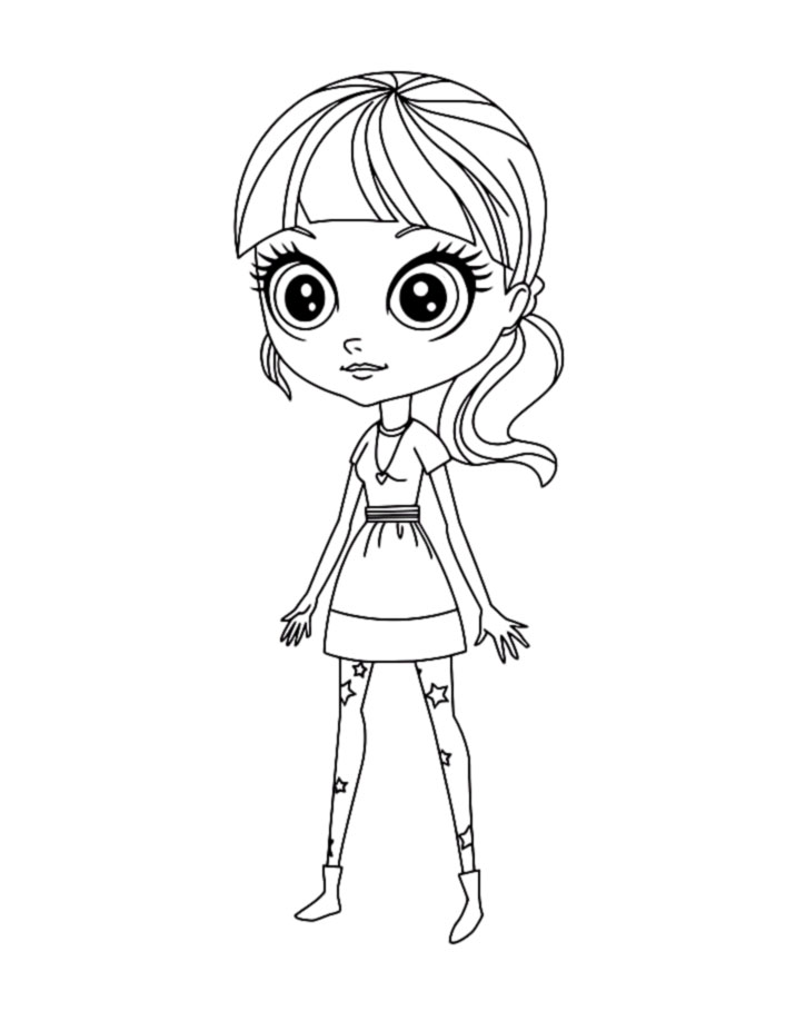 My Littlest Pet Shop coloring pages