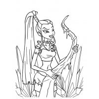 Winx Trix coloring pages