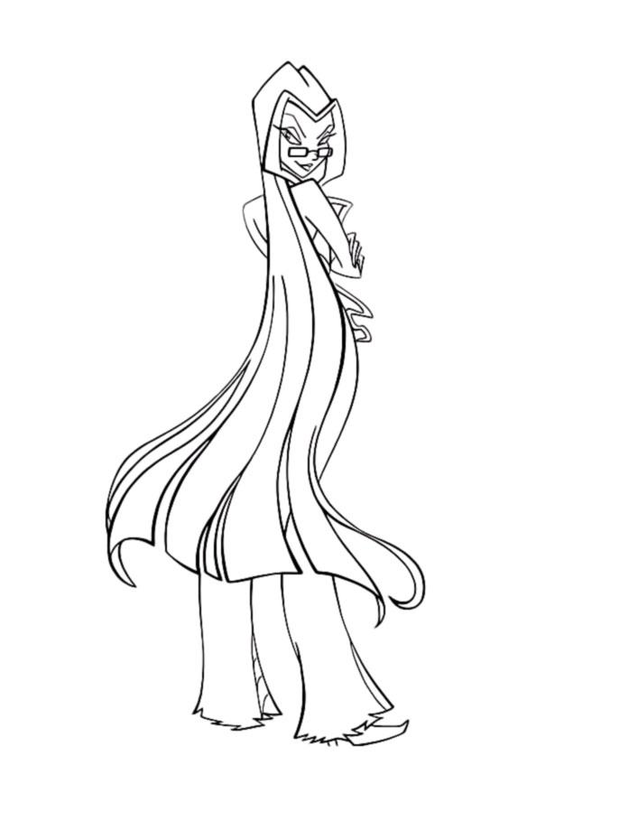 Trix coloring pages ~ Winx Trix coloring pages