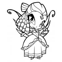 Winx Pixie coloring pages