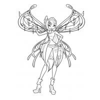 Winx Believix coloring pages