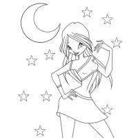 Winx Charmix coloring pages