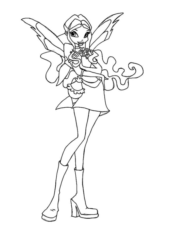 magic winx coloring pages | Winx Charmix coloring pages