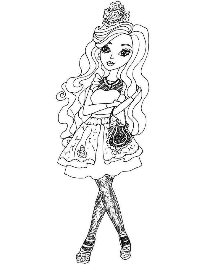 coolest coloring pages ever | Coloring Ever after high. Download and print coloring pages