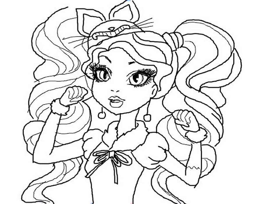 Coloring Ever After High. Download And Print Coloring Pages