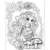 Moxie Girlz coloring pages