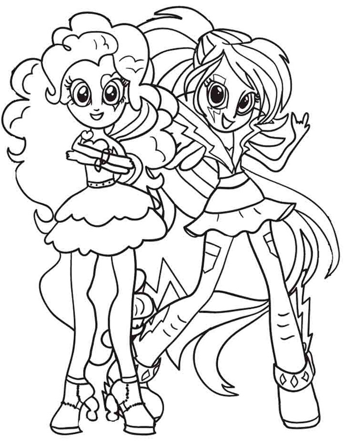 equestria girls coloring pages - equestria girls coloring pages