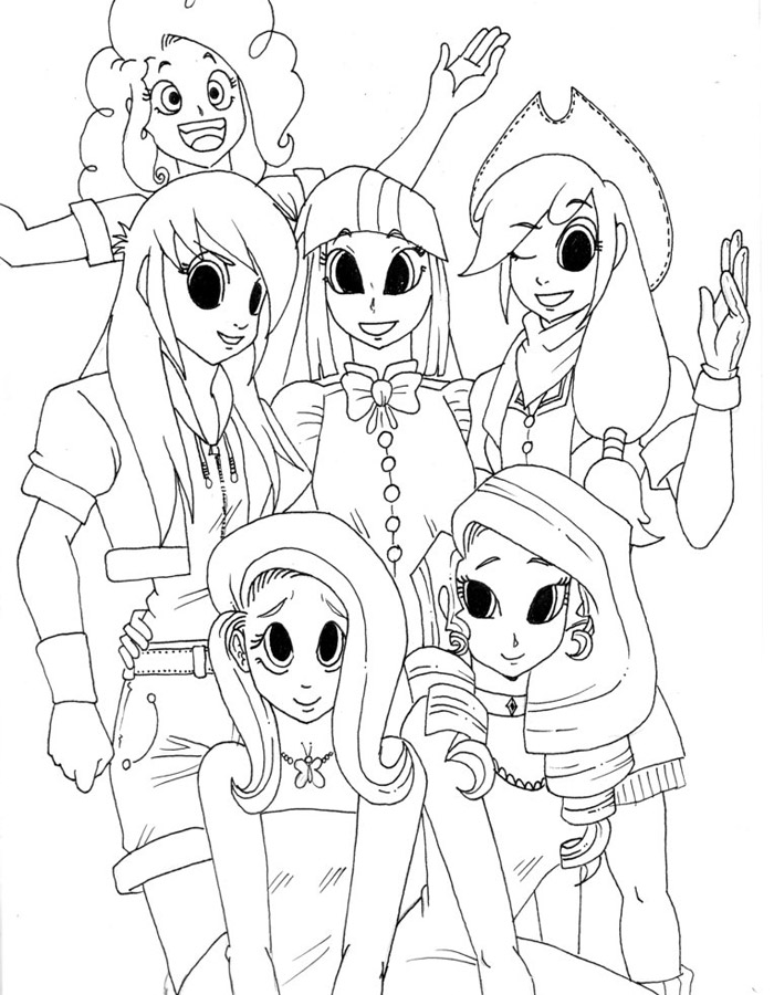 coloring pages of my little pony equestria girls - disegni da colorare my little pony equestria girl vu98