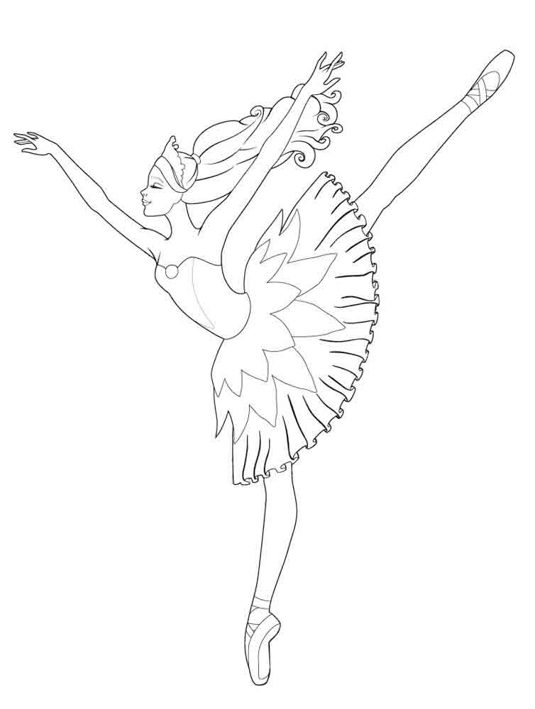 Ballet and dancing coloring pages for Cip e ciop immagini da colorare