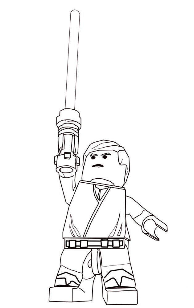 lego star wars coloring pages - Boba Fett Coloring Pages Printable