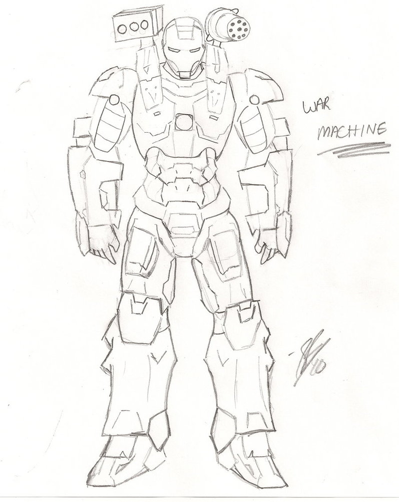 war machine coloring pages - Iron Man Patriot Coloring Pages