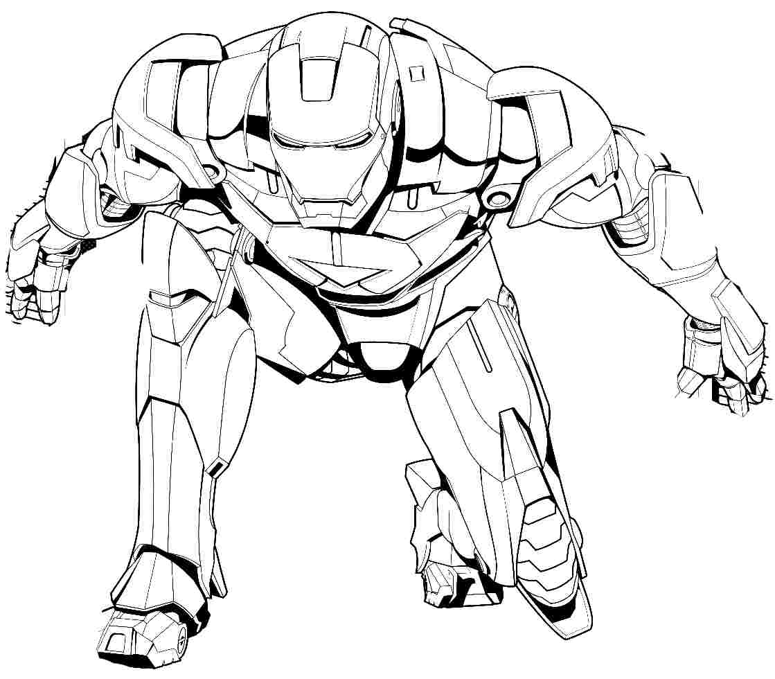 war machine coloring pages - Boys Coloring Pages