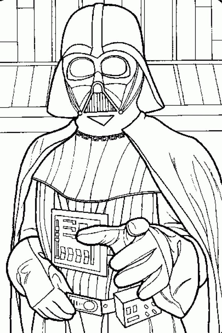 darth vader coloring pages - Darth Vader Coloring Pages