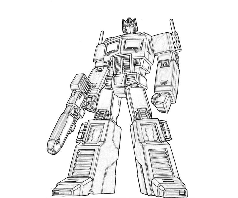 optimus prime coloring pages - Gecce.tackletarts.co