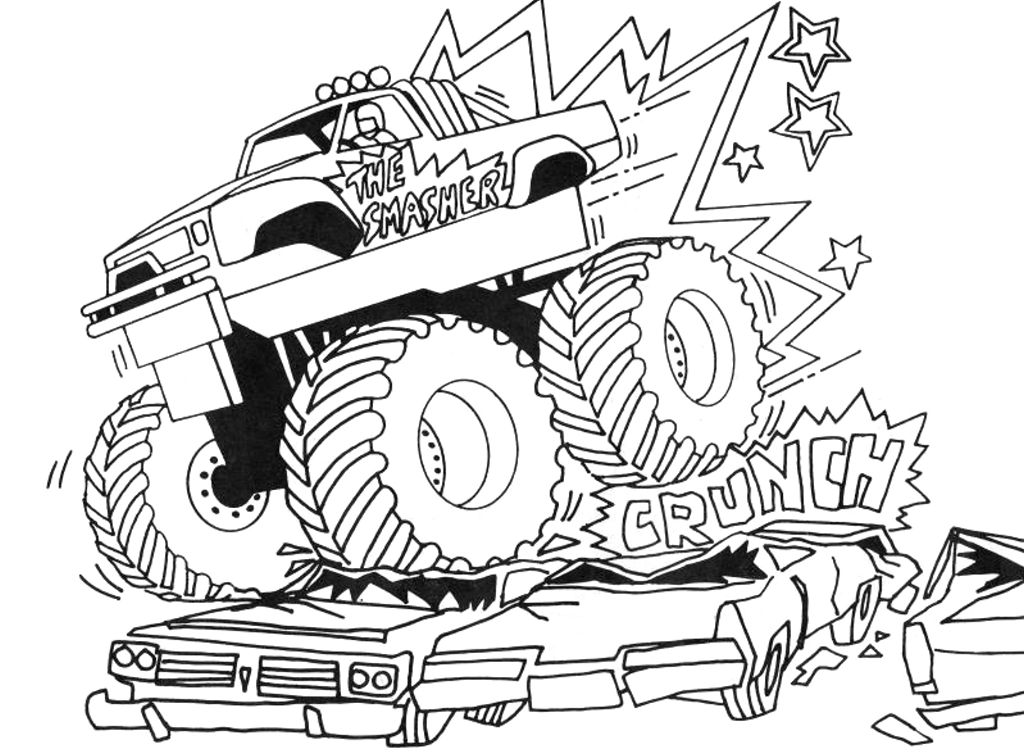 Truck Coloring Pages Truck Color Pages