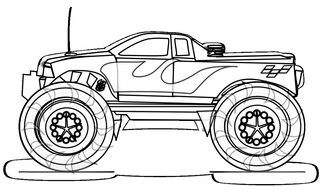 Car And Truck Coloring Books Coloring Coloring Pages