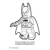 Lego Batman coloring pages