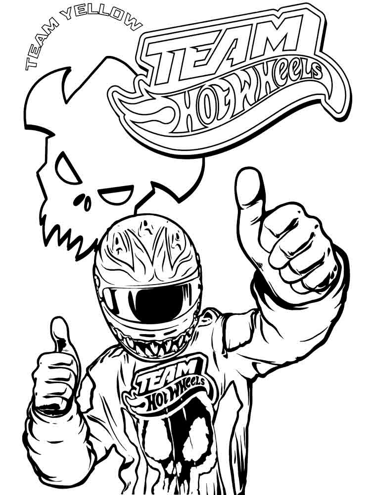 hot coloring pages - hot wheel coloring pages