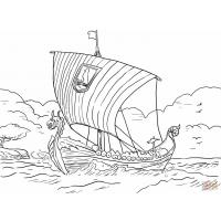 Viking coloring pages