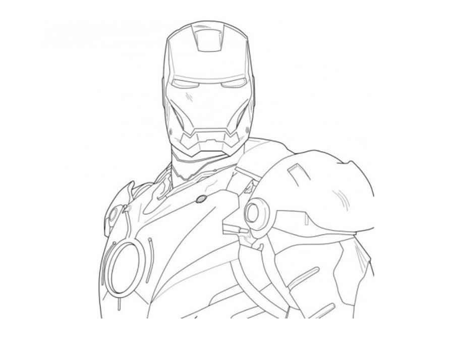 ironman coloring pages - Ironman Coloring Pages