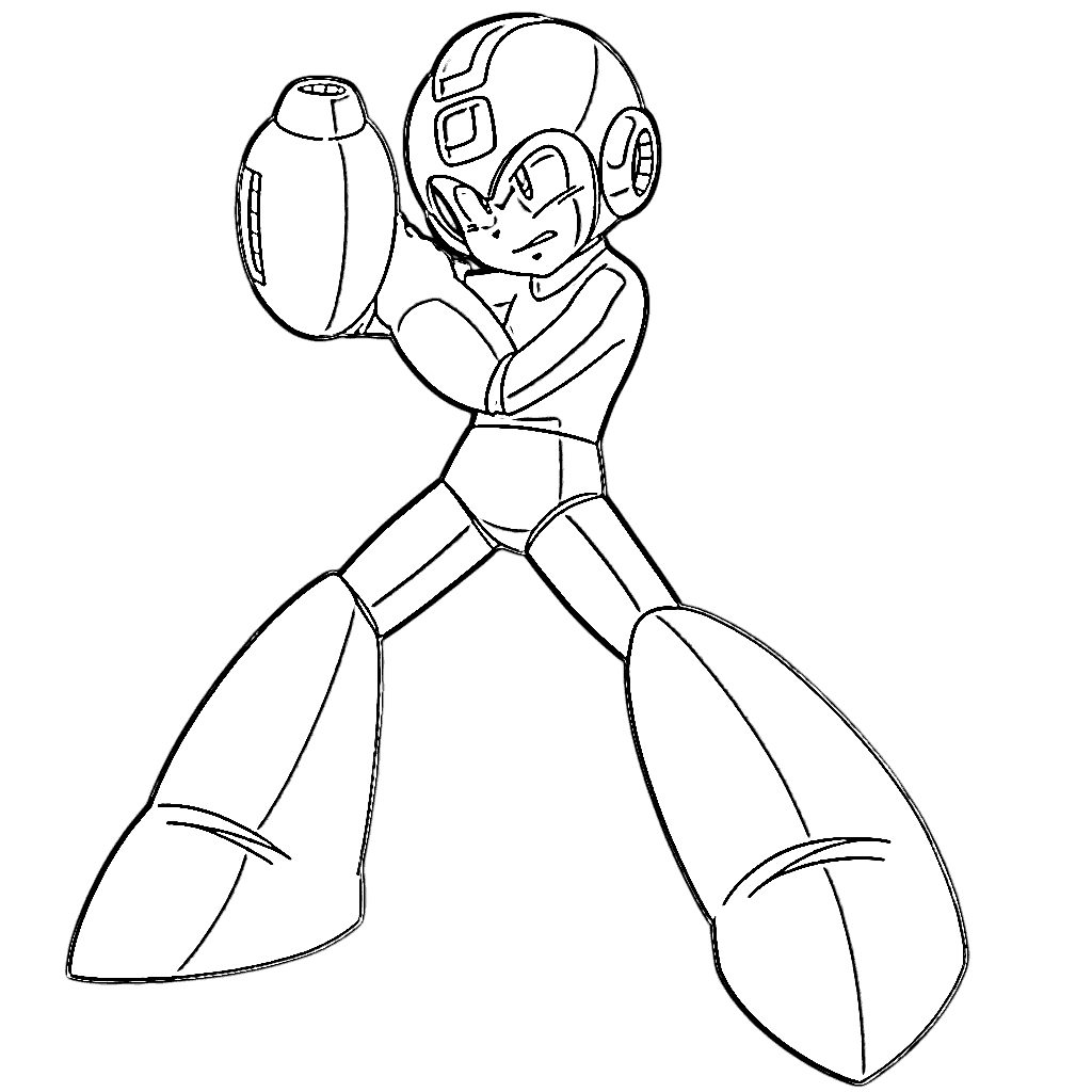 Coloring Pages Megaman Coloring Pages man coloring pages mega pages