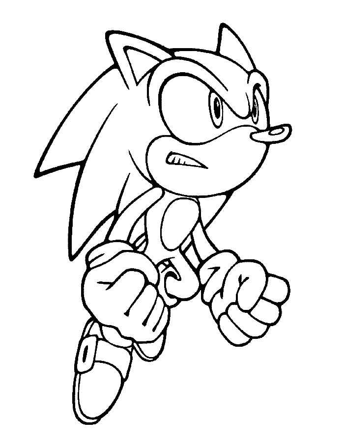 the hedgehog coloring pages