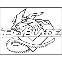 Pegasus beyblade coloring pages