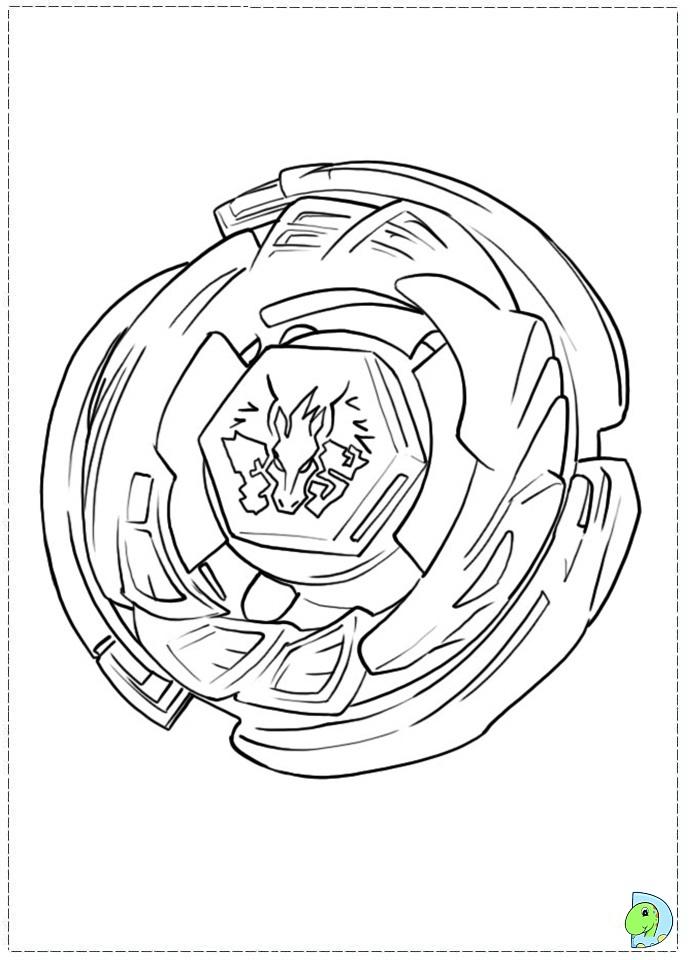 Pegasus beyblade coloring pages