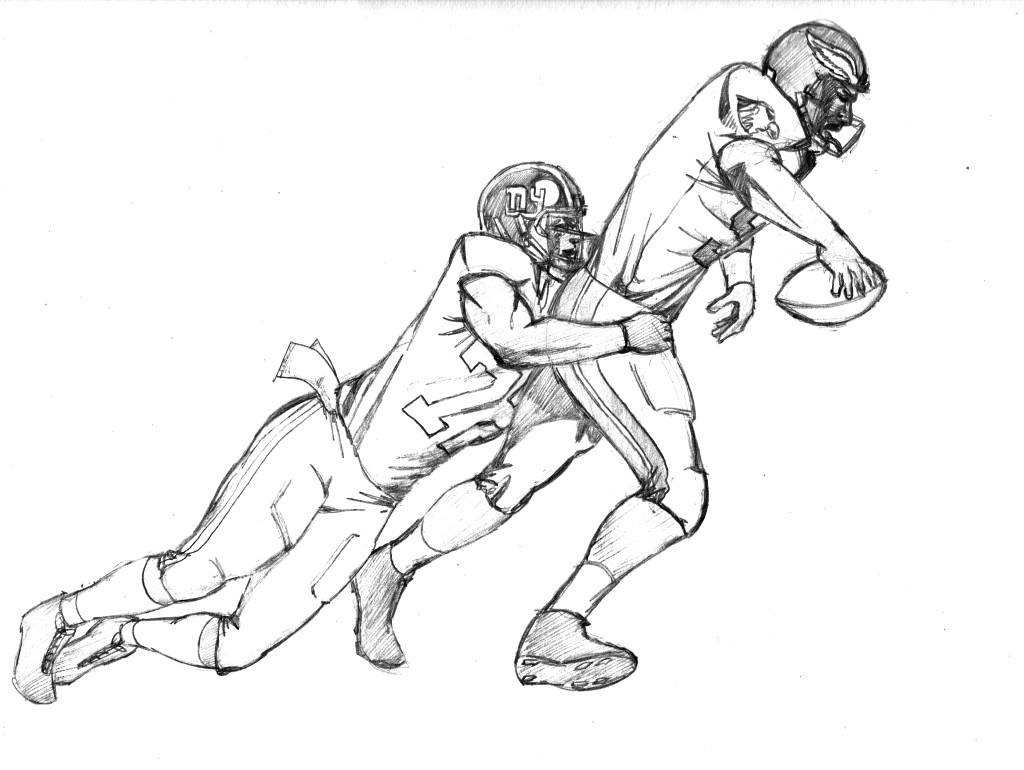 football player coloring pages - Coloring Pages Football Players
