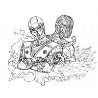 Sub zero coloring pages