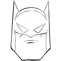 Batman logo coloring pages