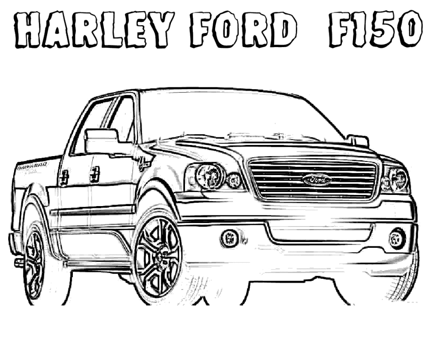 trucks coloring pages