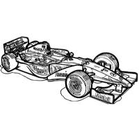 Chevy cars coloring pages