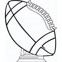 Football helmet coloring pages