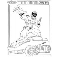 Power Rangers Samurai coloring pages