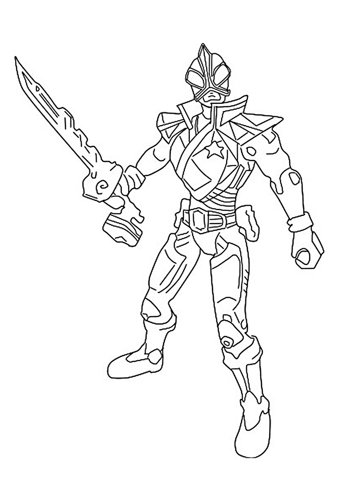 power rangers samurai coloring pages | Power Rangers Samurai coloring pages