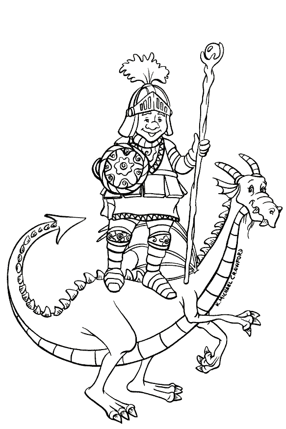 castles and knights coloring pages - Castle Knights Coloring Pages