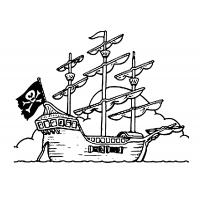 Lego pirates coloring pages