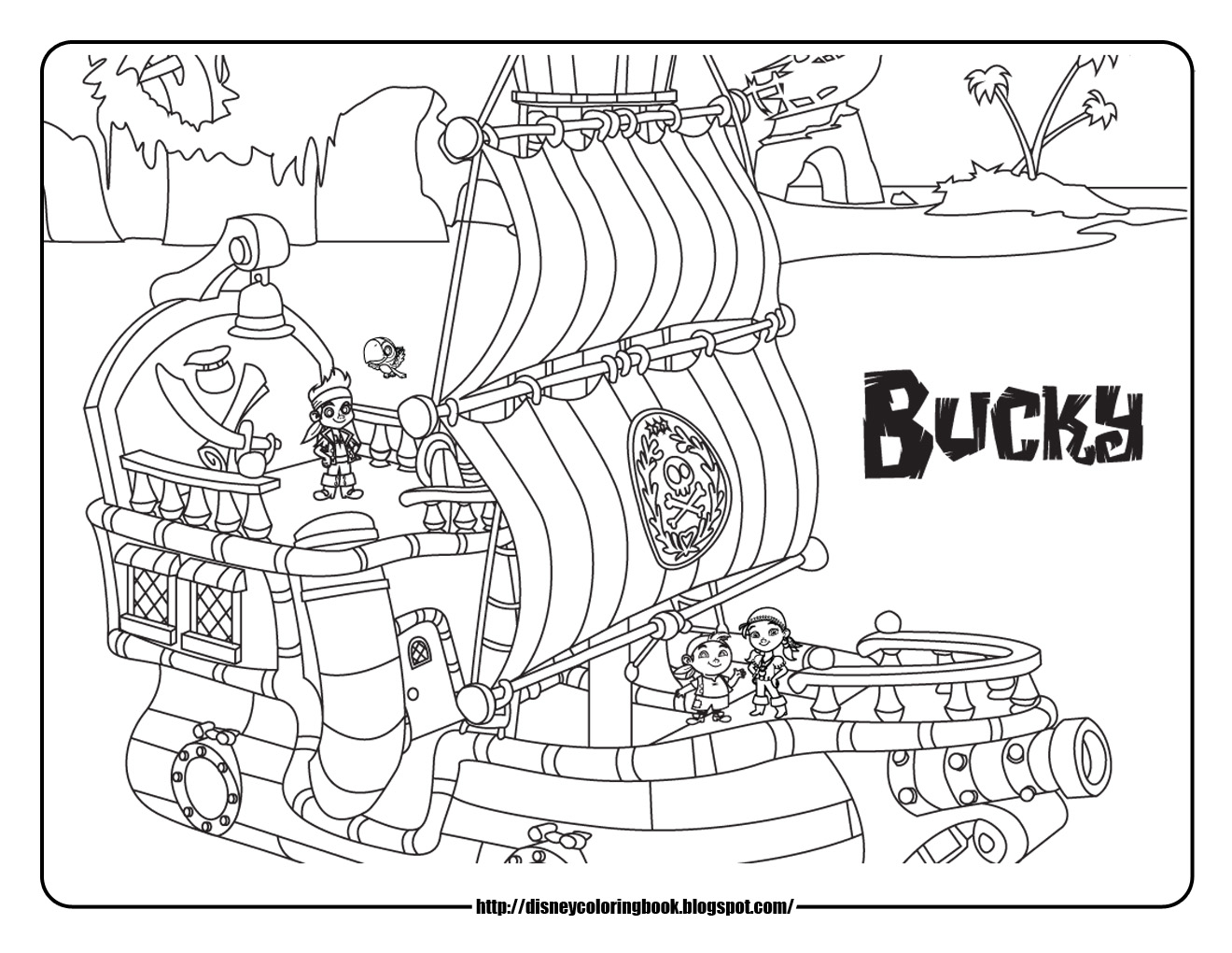 Disney lego coloring pages - Pirates Of The Caribbean Coloring Pages Printable S