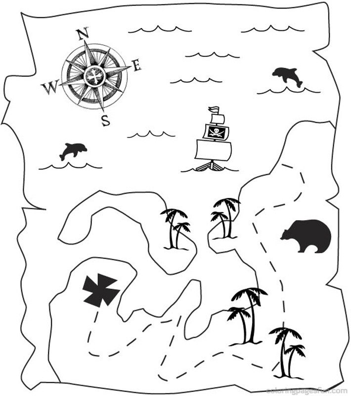 lego pirates coloring pages - Pirate Coloring Page