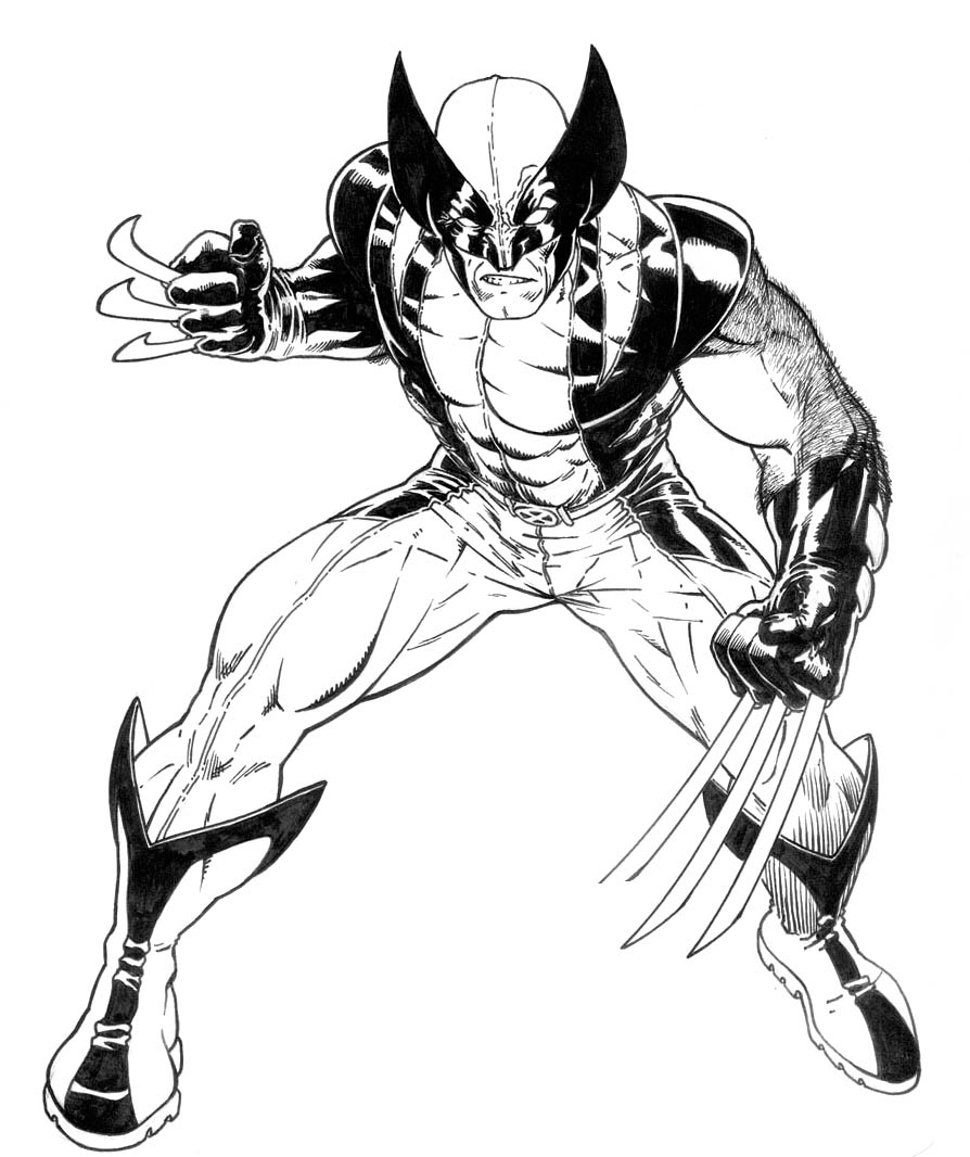 Coloring Pages Wolverine Color Pages wolverine coloring pages eassume com pages
